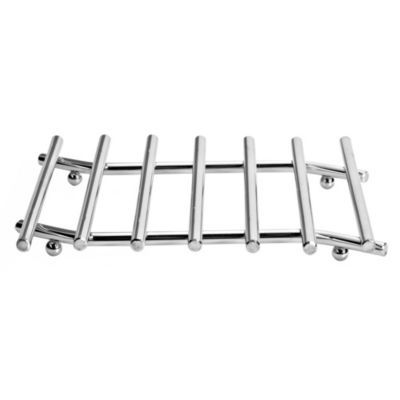 Wavy Chrome Trivet Hot Pan Stand