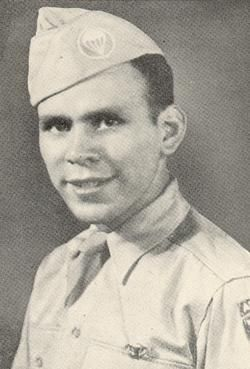 Private First Class Manuel Perez, Jr. US Army Medal of Honor recipient Fort William McKinley, Luzon, Philippine Islands, World War II February 13, 1945.