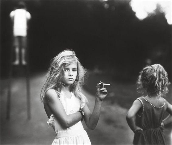 Sally Mann, Candy cigarette