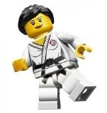 LEGO Olympic Minifigures: Olympic Judo Champ