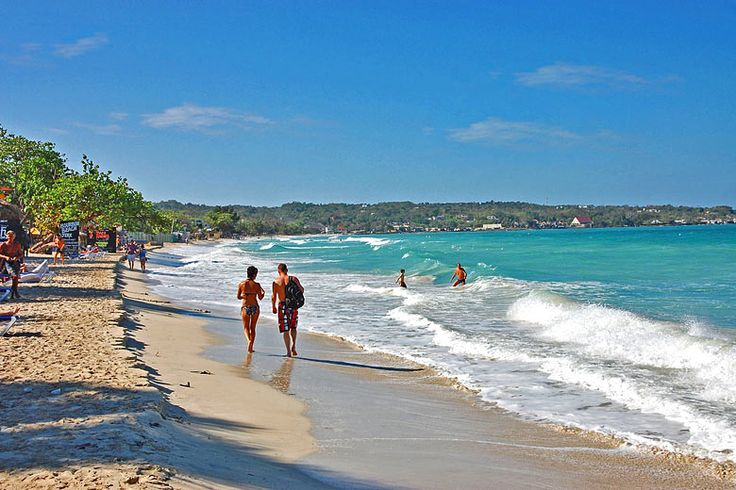 Negril Jamaica, home of Seven Mile Beach | Things to do when you visit Montego Bay, #Jamaica | Weather2Travel.com #mobay #caribbean #travel #holiday