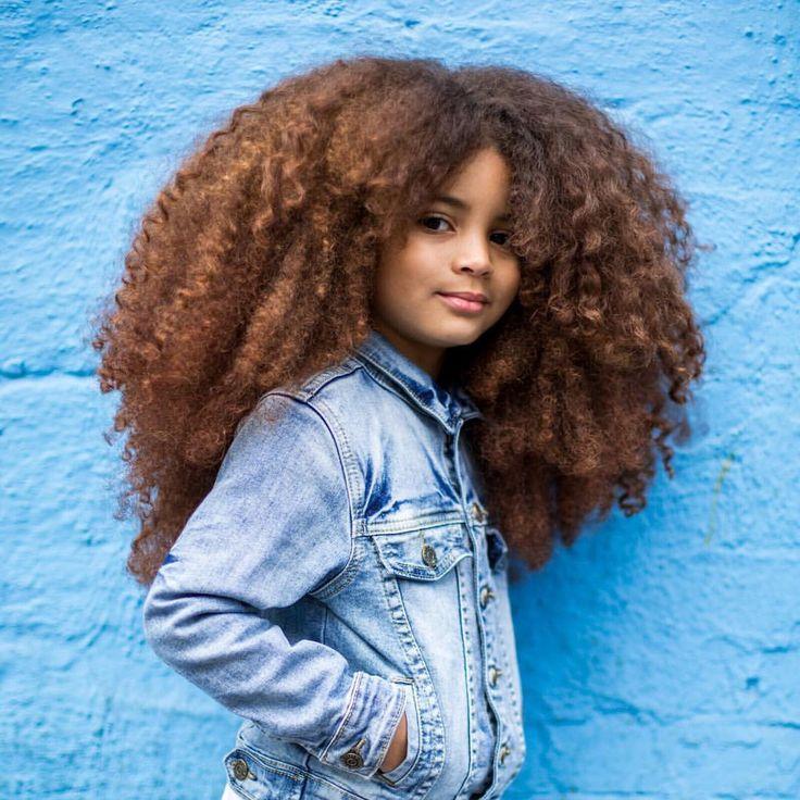 @faroukjames x @lenipaperboats || curly kids. Afro kids.