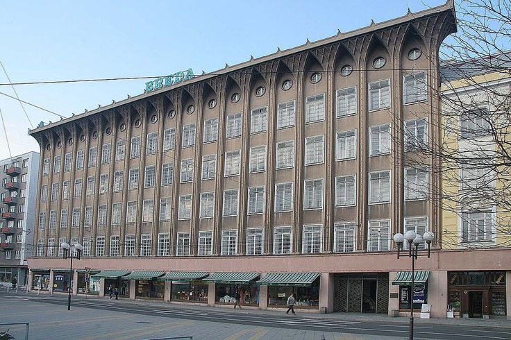 Opava - bývalý obchodní dům Breda - Obchodní dům Breda – Wikipedie