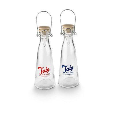 Butelka Vintage Retro Tala 0,5L czerwono logo.  Więcej znajdziesz na mykitchen.pl #kuchnia #homedecor #retro