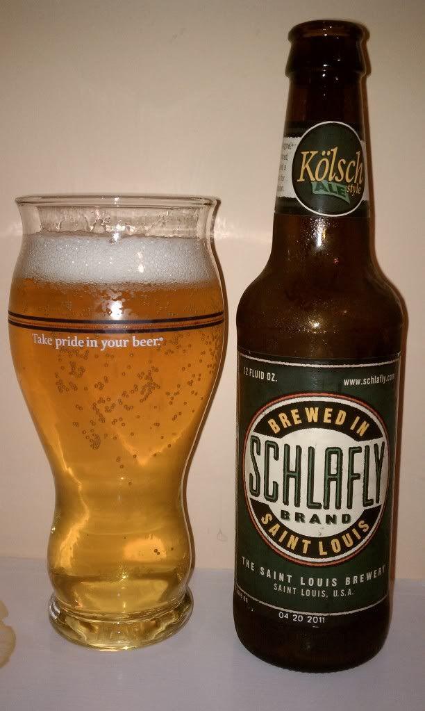 Schlafly Kölsch (Saint Louis Brewery)