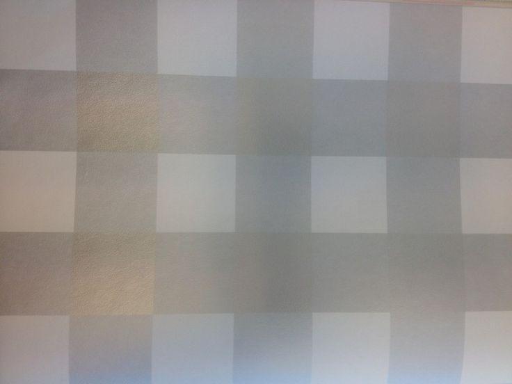 Onszelf Zilver/grijs ruit | Ruitjes | 123kinderbehang
