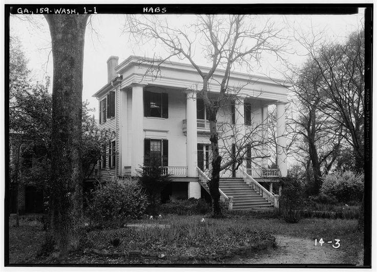 Robert Toombs House Washington Wilkes County GA Antebellum HomesSouthern PlantationsPlantation