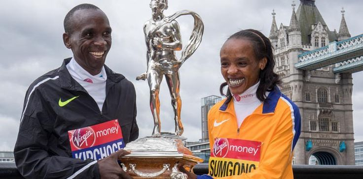 Jemima Sumgong wins the women's London Marathon - Women's Running
