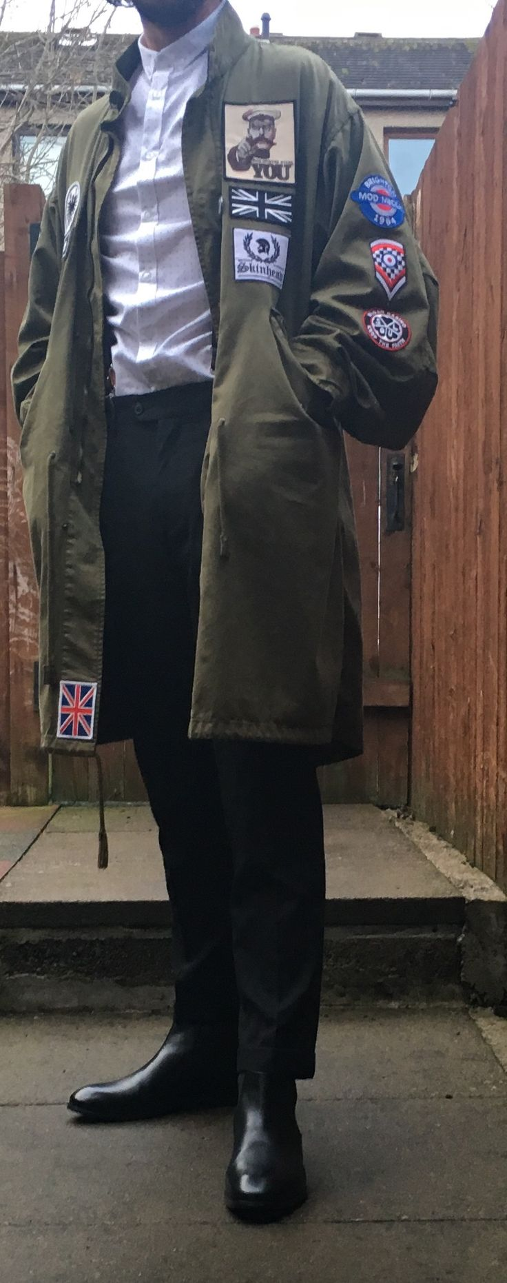 Attire sorted for March of the Mods