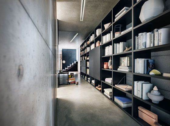 119 best librerie images on Pinterest   Bookcases, Architecture ...