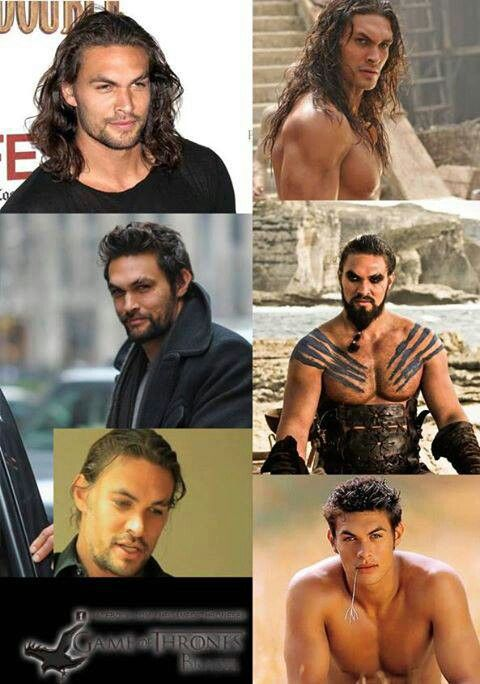 Jason Mamoa.  That is all.