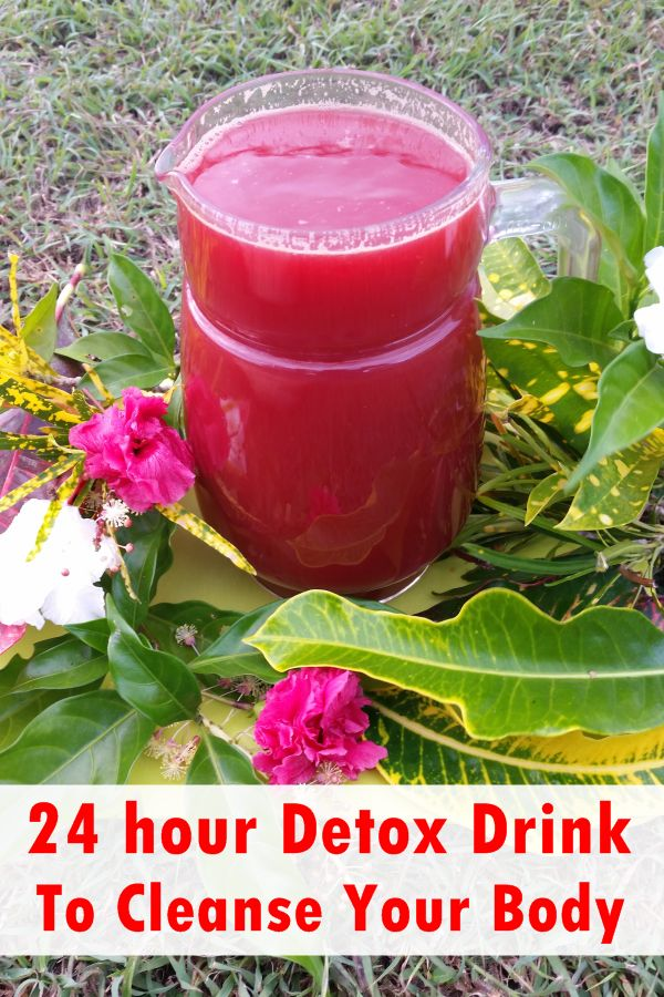 24 hour Detox Drink To Cleanse Your Body - So you have done it again? The holiday excitements got to you and you did enjoy yourself to the fullest not remembering that there will be after effects, right?