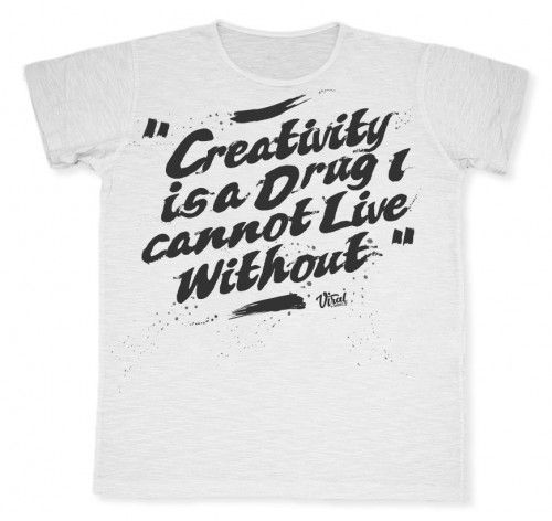 Creativity #tshirt #viraltshirt #viral #summer15 #graphic #graphicdesign #italy #creativity #male #fashion #shirt #style #creativity