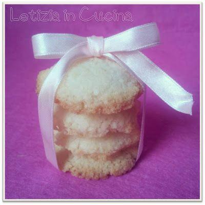 Letizia in Cucina: biscotti al cocco