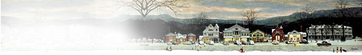 A Norman Rockwell Christmas re-creation in Stockbridge, MA (Dec. 1 & 2, 2012)