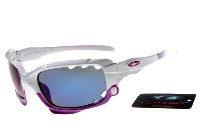 Biggest sale of the season.Oakley Racing Jacket Rectangular White Sunglasses $13.99  - Don't miss out.