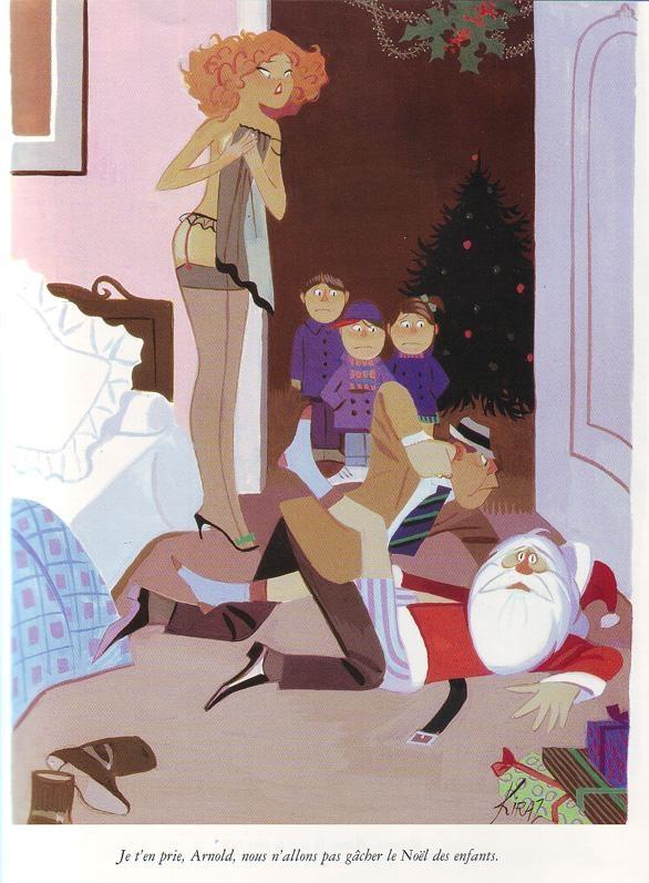 Edmond KirazJe t'en prie, Arnold, nous l'allons pas gâcher le Noël des enfants