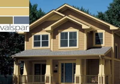 31 curated house exterior colors ideas by pantrybear for Valspar paint visualizer