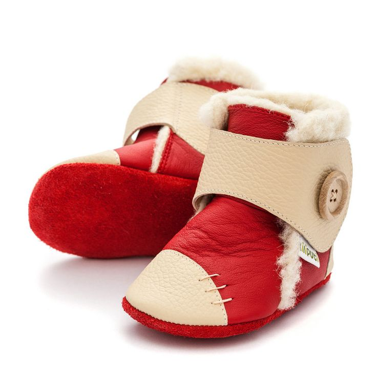 http://www.liliputibabycarriers.com/soft-leather-baby-boots/soft-soled-booties-snowflake-red