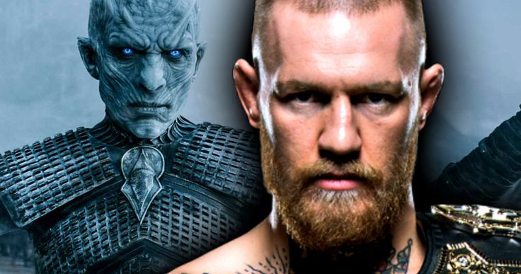 UFC Champion Conor McGregor Confirmed for Game of Thrones -- UFC President Dana White confirms in a new interview that fighter Conor McGregor has in fact been cast in HBO's Game of Thrones. -- http://tvweb.com/game-of-thrones-season-7-conor-mcgregor-ufc-champion/