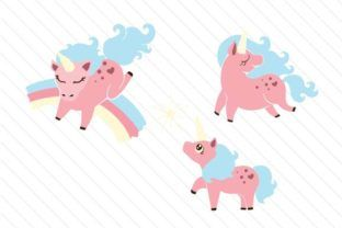 Happy Unicorns - Creative Fabrica