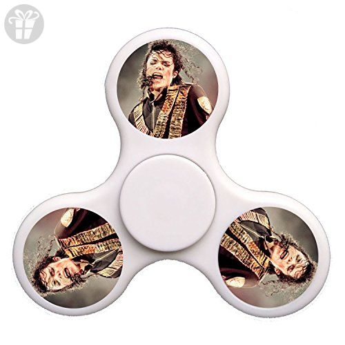 ToyHouse Fid Spinner Michael Jackson Tri Spinner High Speed Spin