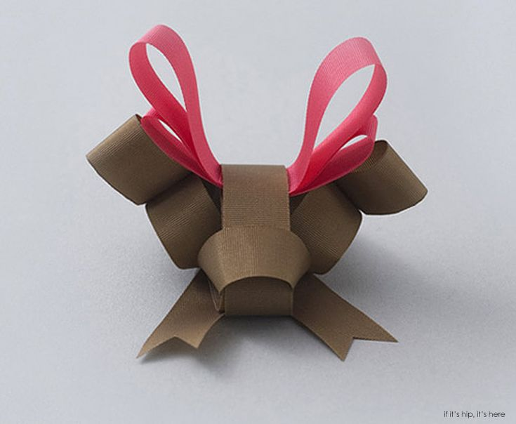 Now, That's a Bow Worth Keeping! Ribbonesia's Sculptural Animal Bows. - if it's hip, it's here