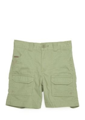 J. Khaki Olive Tree Fishing Short Toddler Boys