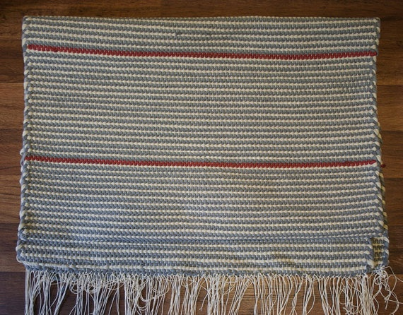 100 cotton finnish rag rug for sale