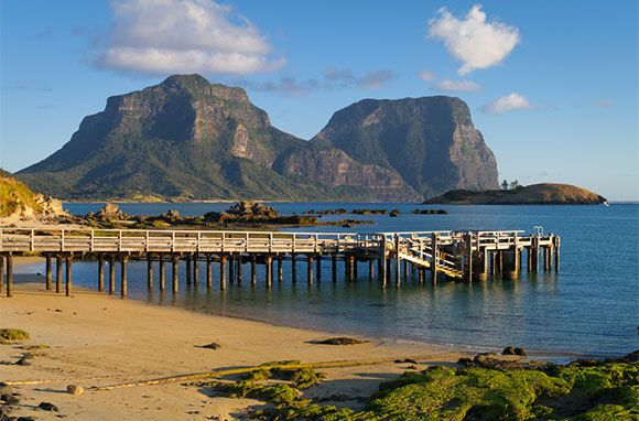 Lord Howe Island, Australia - Don't Miss: Hiking treks on Mt. Gower, Lord Howe's highest peak at nearly 2,900 feet, where you can spot rare flora and fauna and catch views of the entire island.
