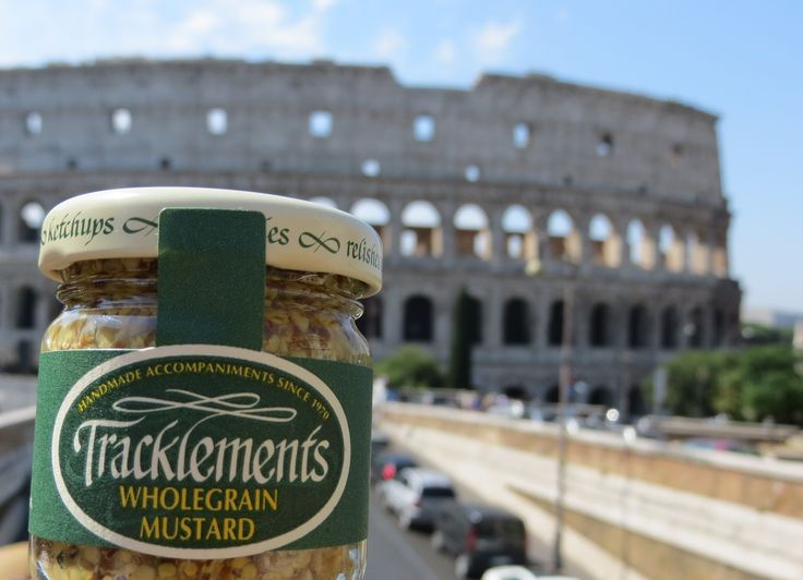 Tracklements in Rome! #Tracklements #Colosseum #Rome #Mustard
