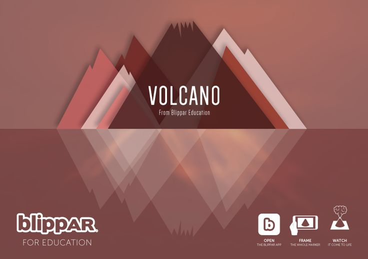 I create educational augmented reality experiences at Blippar. This image is one of the products I have worked on recently with a developer here at Blippar. The design was created by me. This experience is for two users, one is the teacher and the other is the student. Scan the image with the Blippar App to participate as the student in the Volcano experience.