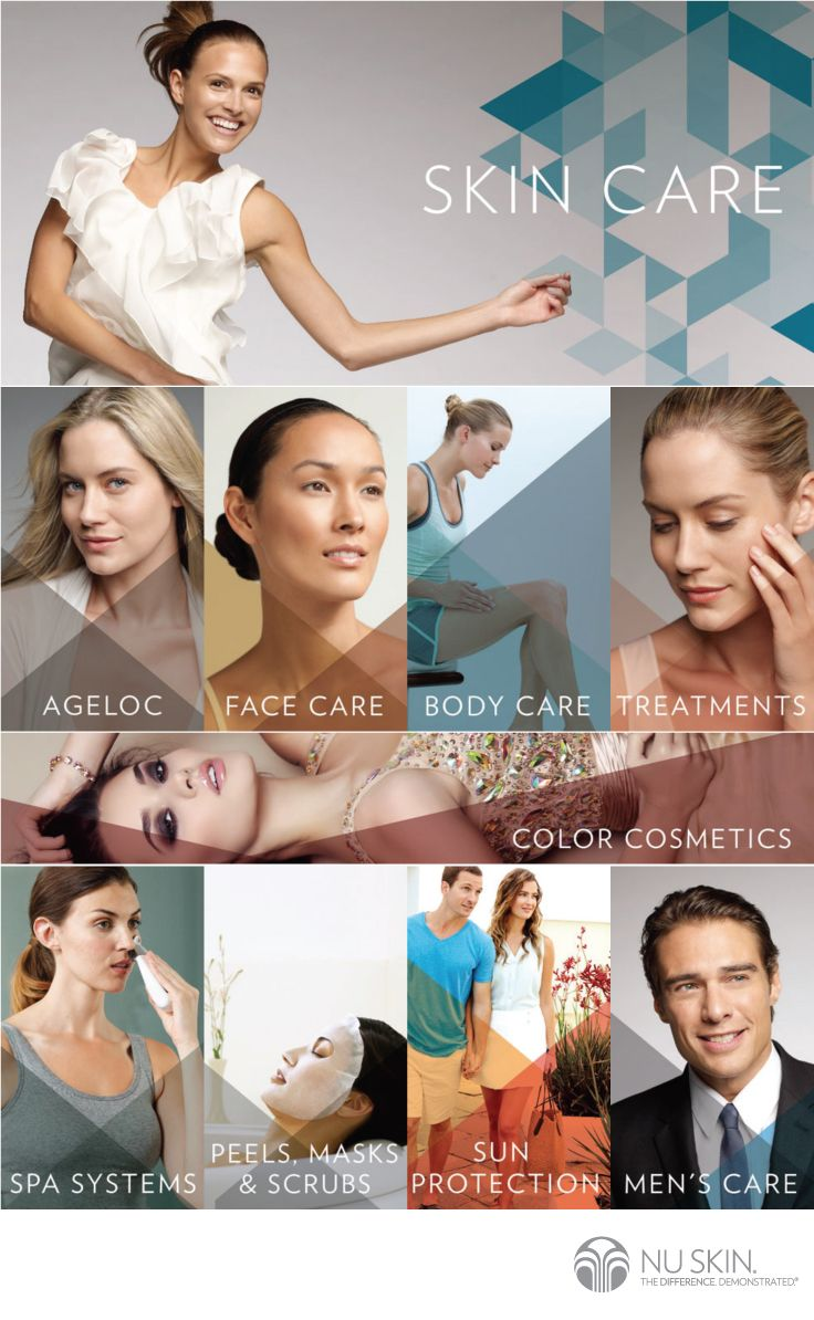 Nu Skin® is a leader in the skin care industry with scientifically advanced ingredient technologies and skin beneficial formulas comprised of only high quality ingredients. And now, together with ageLOC® science, Nu Skin's skin care products are going a step further by helping to unlock the secret to a younger looking you—today and in the future. #Antiaging #Skincare