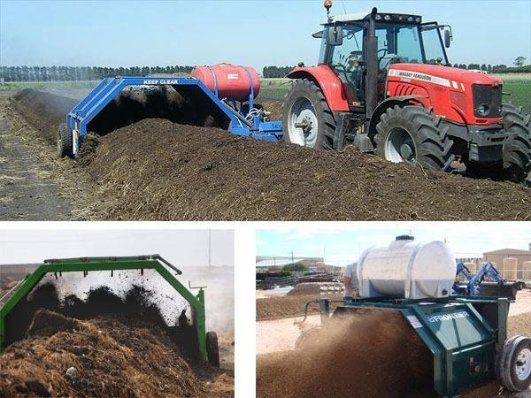 Compost Making Machine for Organic Fertilizer Production Website: http://fertilizer-machinery.com/equipment/compost-turner/index.html