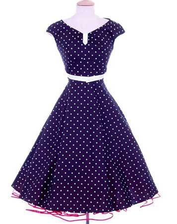 A cute 50's style dress: 50S Style, 1950S Inspiration, Polka Dots Dresses, 50 Style, Polkadot, Swings Dresses, Style Dresses, Beautiful Dresses, 50S Dresses