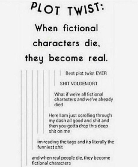 Hello? Bad characters die too. But SIRIUS. AND JAMES. AND LILY AND REMUS AND DOBBY AND HEDWIG AND DUMBLEDORE!!! Nvm the bad character can come back to. Also, fuck Snape