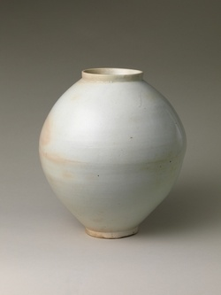 Korean Moon Jar (ok, not so contemporary but it could be)