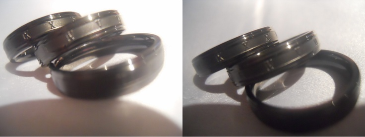 Mens Black Stainless Steel Roman Numerals Rings - $20    Gender: Unisex  Material: Black Stainless Steel  Size: 9    Handsome black stainless steel mans rings perfect for any occasion.    Note: The inside of these rings are curved from a comfort fit!  http://www.facebook.com/CandysCoutureCanada