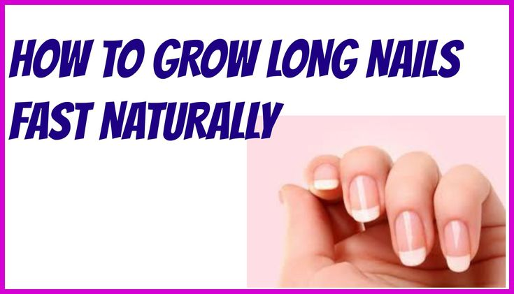 DIY Beauty Tips-How to Grow long nails fast naturally