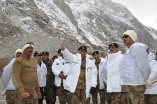 PAKISTAN'S powerful army chief has said he would like to see the country spend less on defence, arguing that national security depended on development as much as on protecting borders.