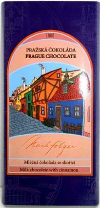 Prague chocolate: Milk Chocolate with Cinnamon • Gourmets will want to savor...