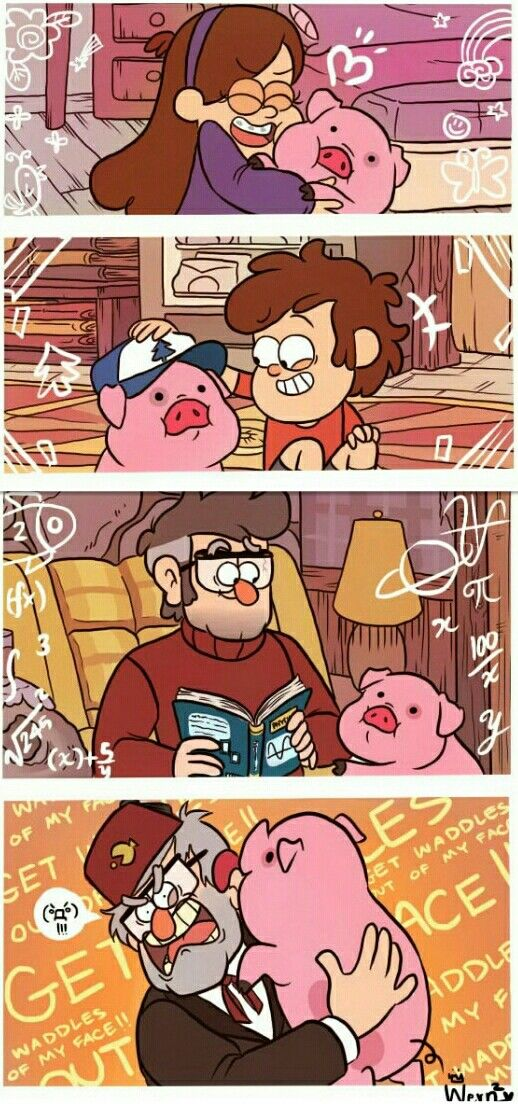 """""""Waddles get out of my face!"""""""