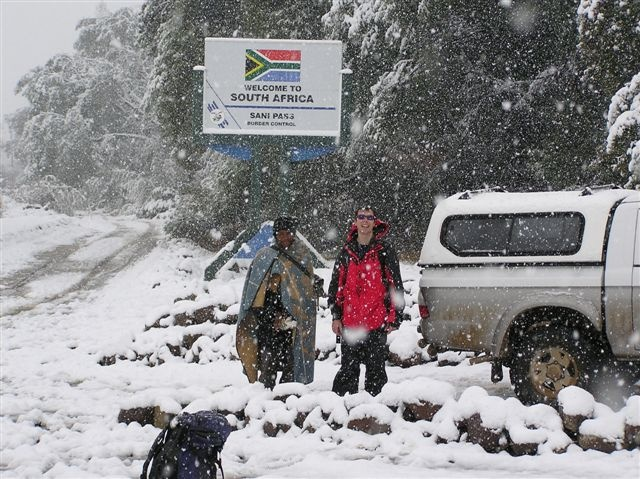 Snow in South Africa  dynamicafrica.tumblr.com