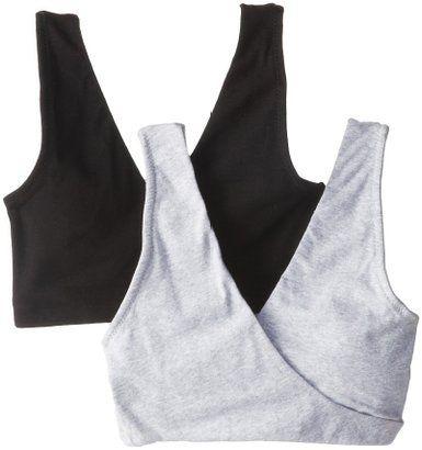 Nursing Bra - Lamaze Two-Pack Sleep Nursing Bras lamaze cotton spandex soft sleep nursing bran black and gray from $18, amazon.com