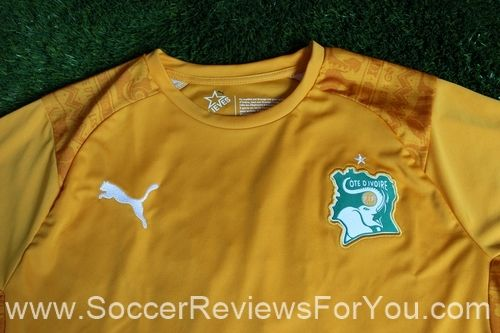 2014 Ivory Coast Jersey Review