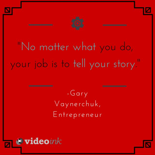 Need some inspiration for creative video content? Don't forget to TELL YOUR STORY!