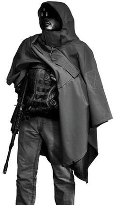 Tactical poncho from Hazard 4.
