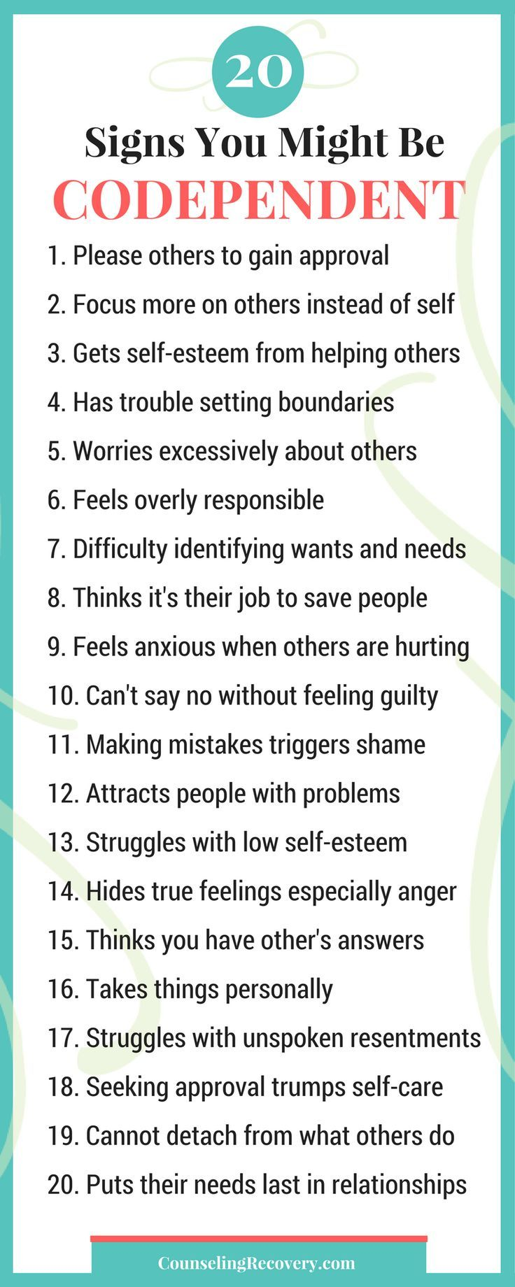 Healing codependency | codependency recovery | relationship problems |  codependent signs | 12 step recovery addiction | codependent relationships | Click to read more! #codependency #boundaries #codependencyrelationships