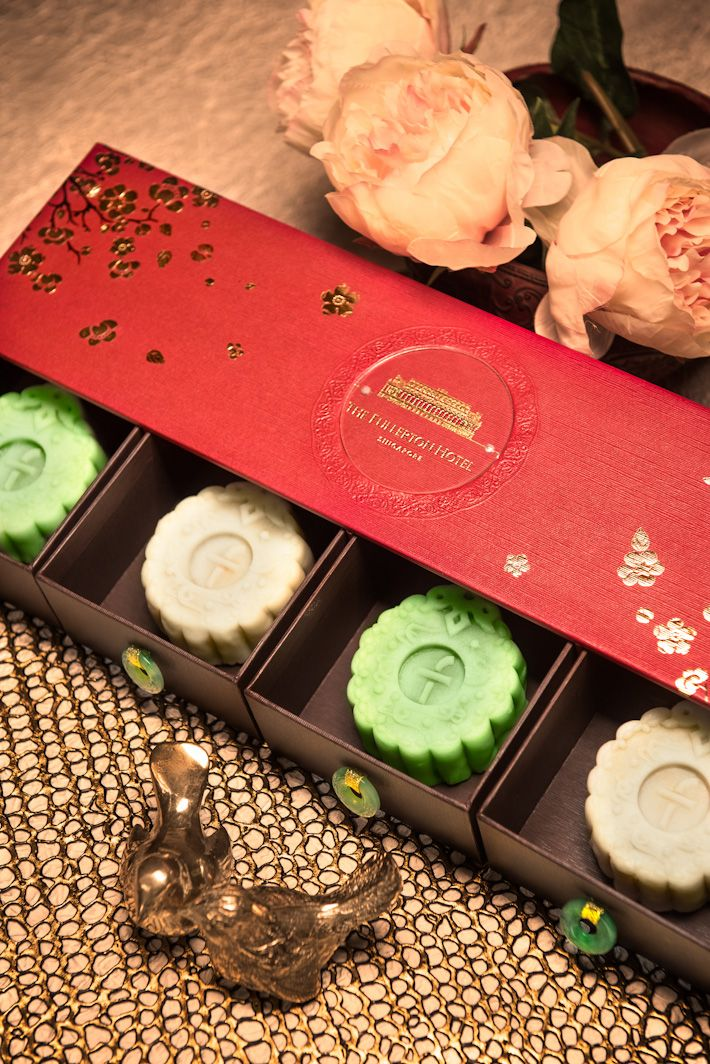 Fullerton Hotel Mooncake 9 PLACES IN SINGAPORE TO GET