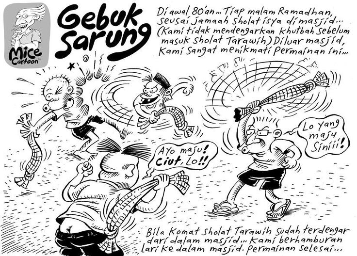 Mice Cartoon, Kompas Minggu, 04.08.13: Gebuk Sarung